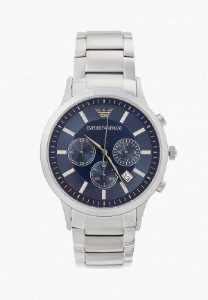 Часы Emporio Armani AR2448. Цвет: серебряный