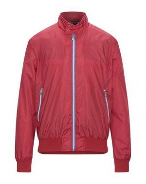 Куртка GAS. Цвет: красный