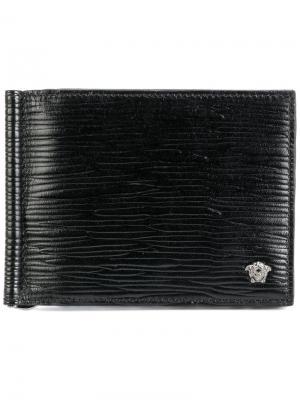 Medusa cardholder Versace. Цвет: чёрный