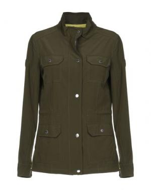 Куртка F**K PROJECT. Цвет: зеленый-милитари