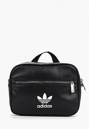 Рюкзак adidas Originals BP MINI AIRL. Цвет: черный