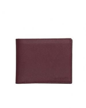 Бумажник PAL ZILERI. Цвет: красно-коричневый