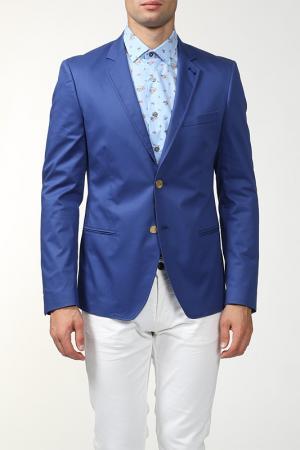 Пиджак Frankie Morello. Цвет: голубой