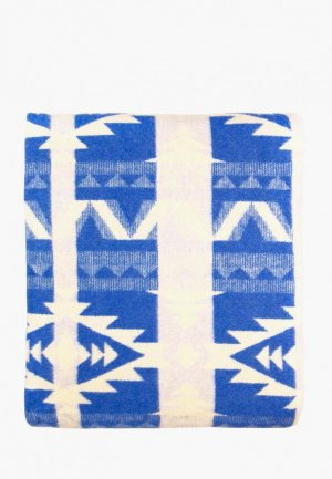 Плед Arloni 205х170. Цвет: голубой