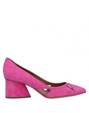 Туфли EMPORIO ARMANI. Цвет: розовый