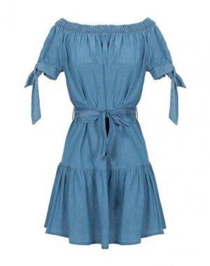 Короткое платье FLY GIRL. Цвет: пастельно-синий