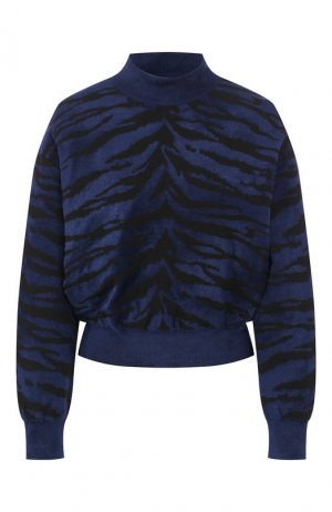 Пуловер Alaia. Цвет: синий