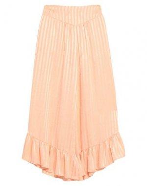 Повседневные брюки ANIYE BY. Цвет: лососево-розовый