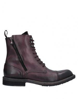 Полусапоги и высокие ботинки JP/DAVID. Цвет: баклажанный