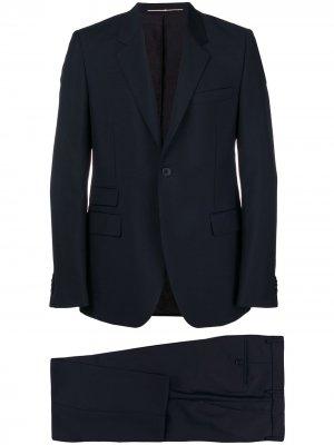 Строгий костюм-двойка Givenchy. Цвет: синий