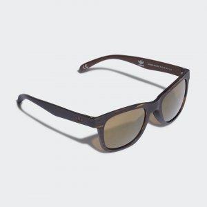 Солнцезащитные очки AOR004 Originals adidas. Цвет: черный