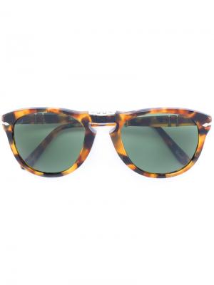 Солнцезащитные очки в оправе формы кошачий глаз Persol. Цвет: коричневый