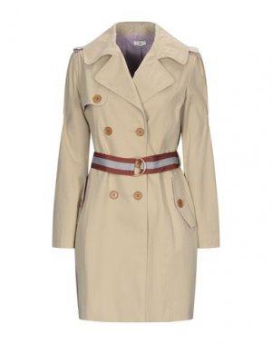 Легкое пальто EMMA & GAIA. Цвет: бежевый