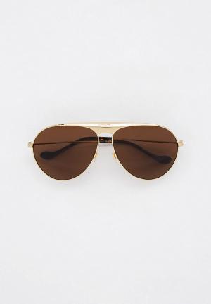 Очки солнцезащитные Gucci GG0908S. Цвет: золотой