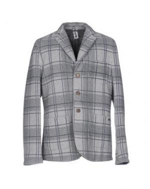 Пиджак BARK. Цвет: светло-серый