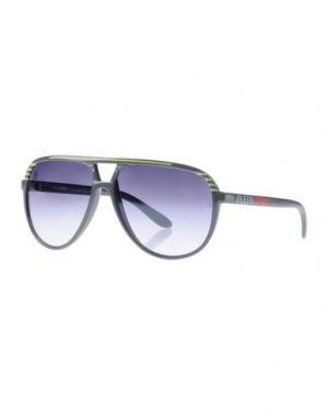 Солнечные очки PLEIN SPORT. Цвет: серый