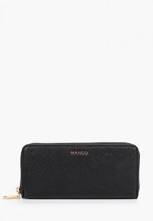 Кошелек Mango G BRAIS. Цвет: черный