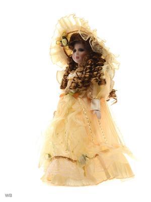 Кукла фарфор 16 Лайза Angel Collection. Цвет: бежевый, белый
