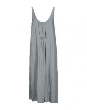 Платье длиной 3/4 ALYSI. Цвет: серый