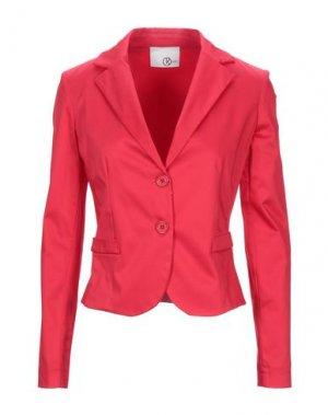 Пиджак RELISH. Цвет: красный