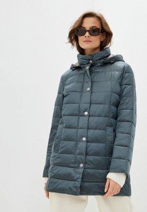 Куртка утепленная Steinberg. Цвет: зеленый