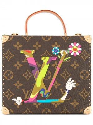 Шкатулка для украшений 2007-го года с монограммами Louis Vuitton. Цвет: коричневый