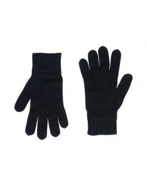 Перчатки FENDI. Цвет: черный