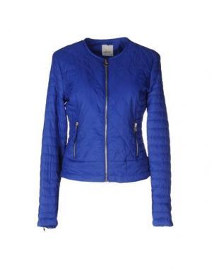 Куртка MAISON ESPIN. Цвет: синий