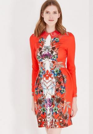 Платье Katya Erokhina Bella. Цвет: красный