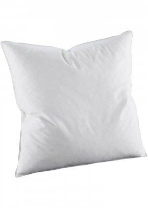 Мягкая подушка, перо bonprix. Цвет: белый