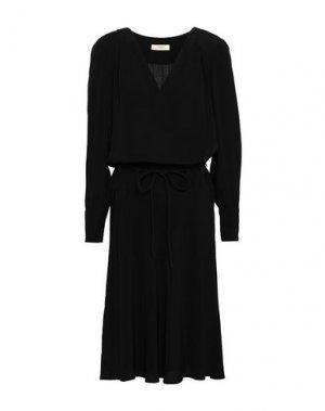 Платье миди BA&SH. Цвет: черный