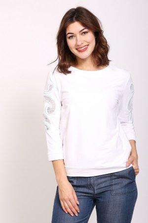 Пуловер Just Valeri. Цвет: белый
