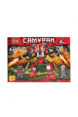Самураи: робот, 289 деталей Город мастеров. Цвет: красный