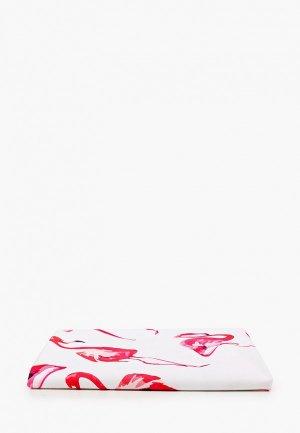 Коврик пляжный Bradex ФЛАМИНГО,  d 150 см. Цвет: белый