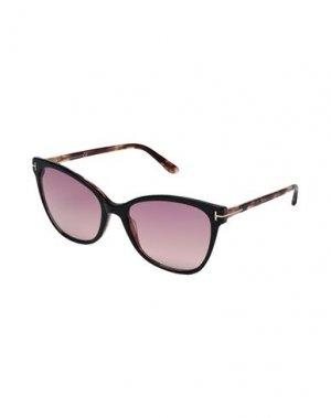 Солнечные очки TOM FORD. Цвет: золотистый