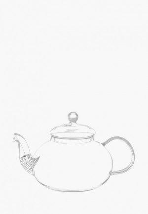 Чайник заварочный Elan Gallery 800 мл. Цвет: прозрачный