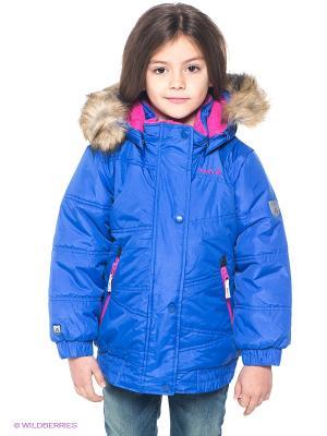 Куртка Kamik. Цвет: синий, розовый