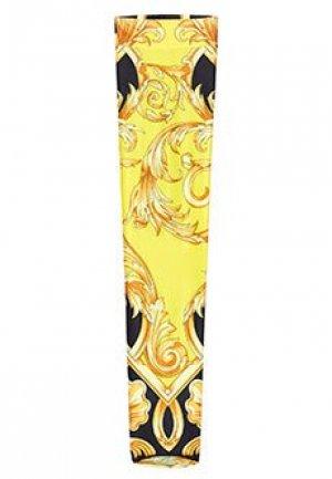 Носки VERSACE. Цвет: желтый