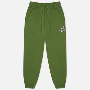 Мужские брюки x Santa Cruz Print Puma. Цвет: зелёный