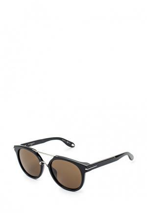 Очки солнцезащитные Givenchy GI007DMNNX82. Цвет: черный