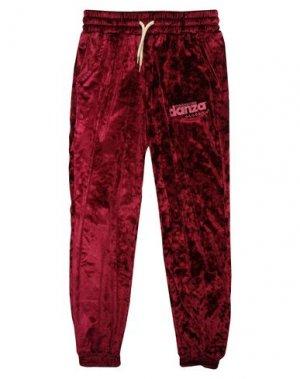 Повседневные брюки DIMENSIONE DANZA SISTERS. Цвет: красно-коричневый