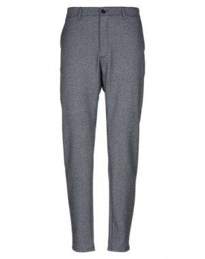 Повседневные брюки ELVINE. Цвет: темно-синий