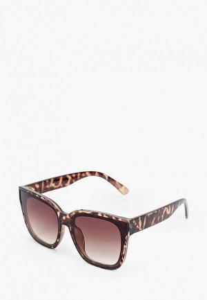 Очки солнцезащитные Keddo. Цвет: коричневый