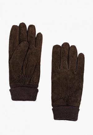 Перчатки Marks & Spencer. Цвет: коричневый
