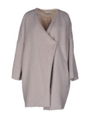 Пальто ...À_LA_FOIS.... Цвет: голубиный серый