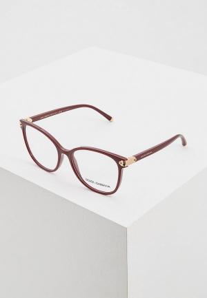 Оправа Dolce&Gabbana DG5035 3091. Цвет: бордовый