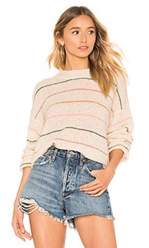 Пуловер The Great. Цвет: беж