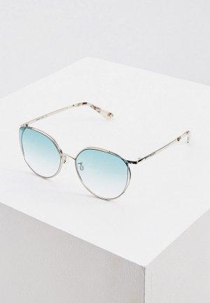 Очки солнцезащитные McQ Alexander McQueen MQ0288SA. Цвет: серебряный