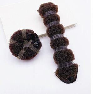 2шт Набор инструментов для укладки волос SHEIN. Цвет: кофейный коричневый