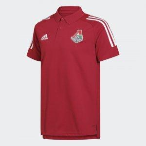 Поло ФК Локомотив Performance adidas. Цвет: none